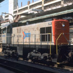 Amtrak Switcher No. 7110 at Washington, D.C. Union Station. Photographer unidentified.