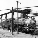 Alexandria, VA terminal, Ash Dump, 4/5/1938;  Class MS4; Alco-Richmond; 1923; C/N 64818; Retired 1/1952