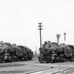 Alexandria, Virginia Yard, 4-5-1948;  Class M-S4; Richmond 1923; C/N 64802 (4800); C/N 64817 (4815); Retired 1-1952