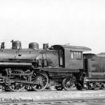 Inman Yard, Atlanta, Georgia, 1940; Series 1905-1914; Class C, Richmond 1906, C/N 39327; Retired 8/1942