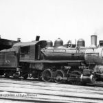 Alexandria, Virginia Enginehouse Yard, 6-19-1939; Class A-7, Pittsburg 1904 C/N 30247; Retired 10/1947
