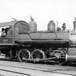 Spencer, NC. 5/18/1940; Class A-3 Richmond 1895 CN 2486; Spencer Yard Goat, 060-T-EX 1903, 1393; Retired 1/1943