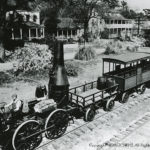 Southern Railway System.  Replica of Pioneer Train, South Carolina RR, 1830.