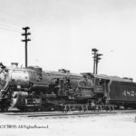 Alexandria, VA terminal; 6/19/1939;  Class MS4; Alco-Richmond; 1923; C/N 64826; Retired 3/1952
