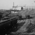 Taken in 1906-1907, this was the up-track view from the old B&O station.  In effect the main line of the old B&O is almost on  top of WMATA's REd Line today. The west side of Union Station stands ready for operation. Photo from Lee Rogers Collection.