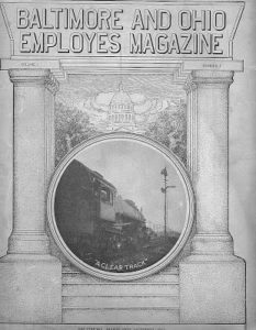 employee magazine cover